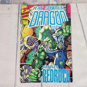 Vintage 1992 The Savage Dragon Comic Malibu Comics